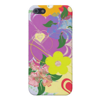 Colorful Floral iPhone Case 4 iPhone 5 Case