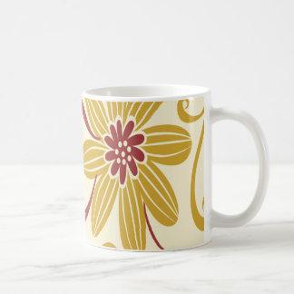 Colorful Floral Coffee Mug