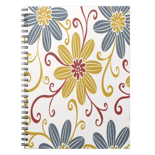 Colorful Floral Journal