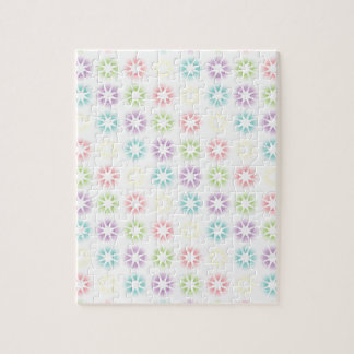 Colorful floral pattern jigsaw puzzle