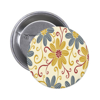 Colorful Floral Pin