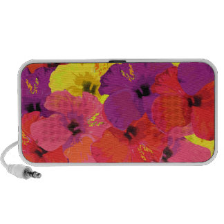 Colorful Floral Speakers