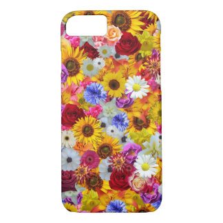 Colorful Floral Wallpaper iPhone 7 Case