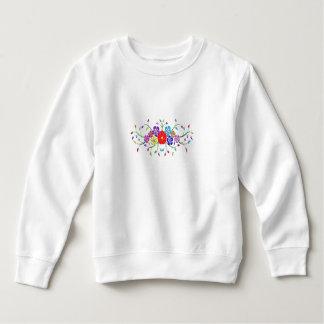 colorful flower bouquet sweatshirt
