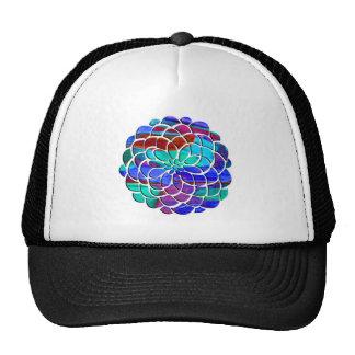 Colorful Flower Cap