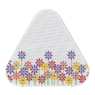 Colorful Flower Garden Pieladium Speaker