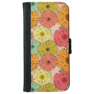 Colorful Flower Iphone 6/6s Wallet Case