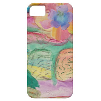 Colorful flower printed items, gifts , fashion. barely there iPhone 5 case