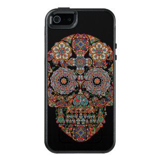 Colorful Flower Sugar Skull OtterBox iPhone 5/5s/SE Case