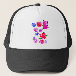 Colorful Flowers 2 Trucker Hat