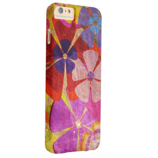 colorful flowers abstract art barely there iPhone 6 plus case