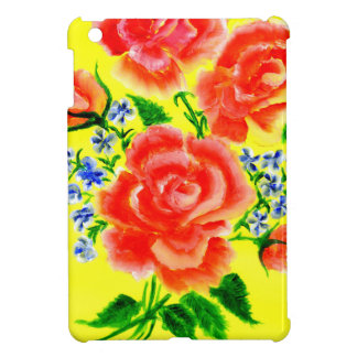 Colorful Flowers Art 2 iPad Mini Cover