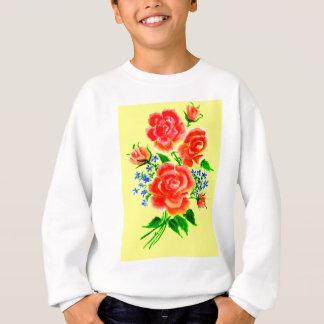 Colorful Flowers Art 2 Sweatshirt