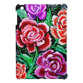 Colorful Flowers Art iPad Mini Cases