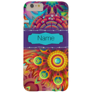 Colorful Flowers Barely There iPhone 6 Plus Case