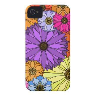 Colorful Flowers Blackberry Bold 9700/9780 Cover Blackberry Cases