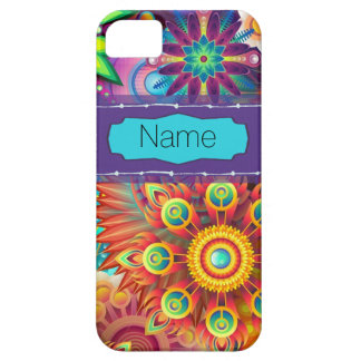 Colorful Flowers Case For The iPhone 5