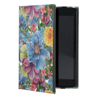Colorful Flowers Collage Hand Illustration iPad Mini Covers