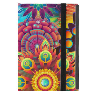 Colorful Flowers Cover For iPad Mini
