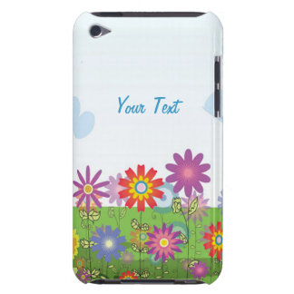 Colorful Flowers iPod Touch Case