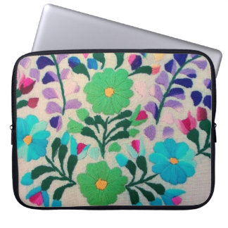 Colorful Flowers Pattern Computer Sleeves