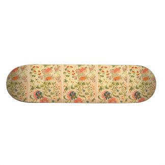 Colorful Flowers Wonderland Skate Board
