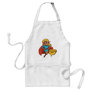 Colorful Flying Super Mom Standard Apron
