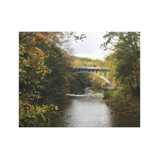 Colorful Foliage Youngstown Ohio Canvas Print