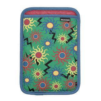 Colorful Folk Art Sun Shine Abstract iPad Case