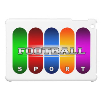 Colorful Football iPad Mini Case