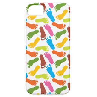 Colorful Footprints iPhone 5 Cases
