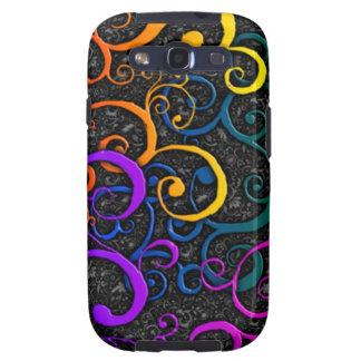Colorful Fourish Pattern Samsung Galaxy S3 Case