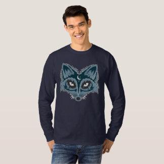 Colorful Fox Illustration T-Shirt