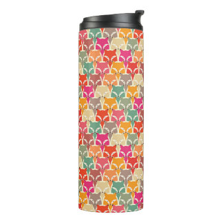 Colorful Fox Thermal Tumbler