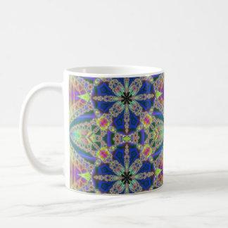 Colorful Fractal Bursts Mug