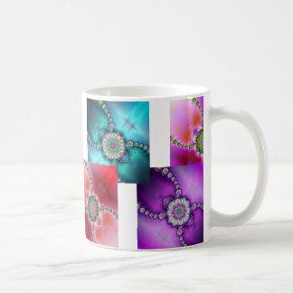 Colorful Fractal Designs Mug