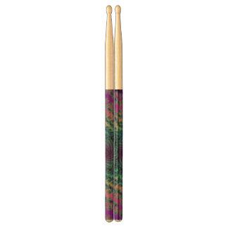 Colorful Fractal Drumsticks Too Drum Sticks