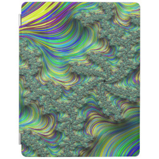 Colorful Fractal iPad Cover