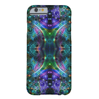 Colorful Fractal Kaleidoscope Symmetrical Design Barely There iPhone 6 Case