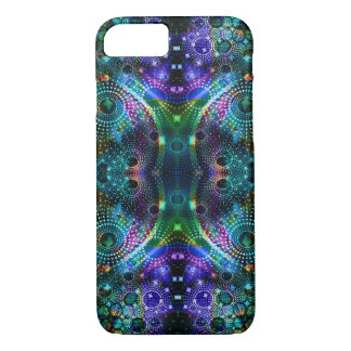 Colorful Fractal Kaleidoscope Symmetrical Design iPhone 7 Case