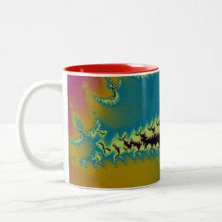 Colorful Fractal Mug
