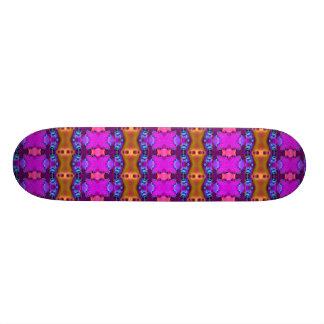 colorful fractal skate boards