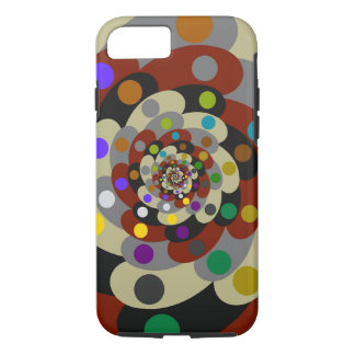 Colorful Fractal Style iPhone 7 Case