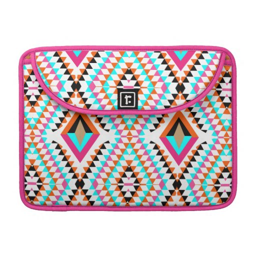 Colorful Fresh Geometric Triangle Graphic Sleeve For MacBooks