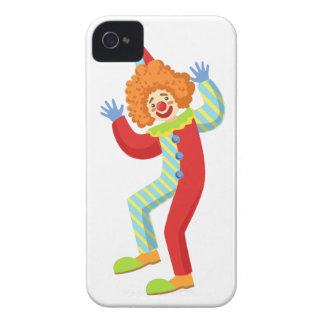 Colorful Friendly Clown Performing In Classic Outf Case-Mate iPhone 4 Case
