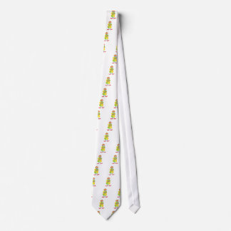 Colorful Friendly Clown Playing Accordion In Class Tie