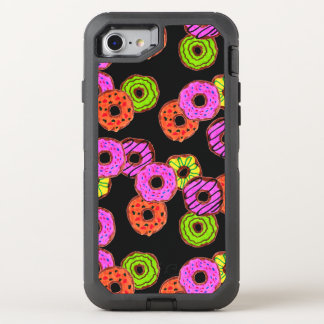 colorful frosted donuts doughnut with sprinkles OtterBox defender iPhone 8/7 case