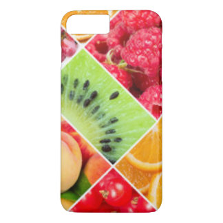 Colorful Fruit Collage Pattern Design iPhone 8 Plus/7 Plus Case