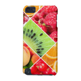 Colorful Fruit Collage Pattern Design iPod Touch 5G Cases