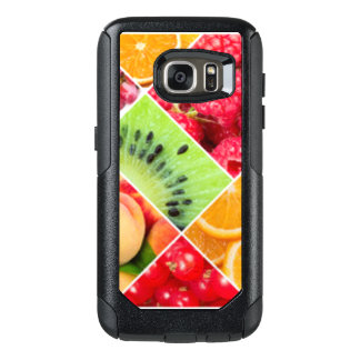 Colorful Fruit Collage Pattern Design OtterBox Samsung Galaxy S7 Case
